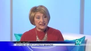 Ethel Palací presenta la edición de Octubre de D'latinos Magazine