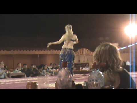 Dubai Desert Safari Belly Dance Part 1/4