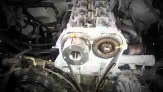 getlinkyoutube.com-Sincronización de tiempo del motor nissan frontier 2.5
