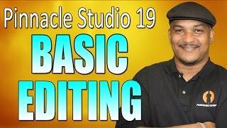 getlinkyoutube.com-Pinnacle Studio 19 Ultimate - Basic Editing Beginners Tutorial