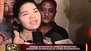 Janelle Manahan at Genelyn Magsaysay, nagharap sa piskalya sa unang pagkakataon
