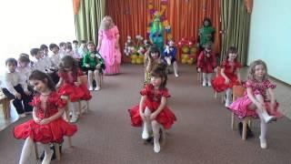 """getlinkyoutube.com-Детский сад """"Берёзка""""Танец модниц подготовительная группа 2015г"""