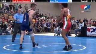 getlinkyoutube.com-USA vs. India Dual - 2014 NCAA Championships