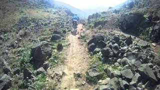 getlinkyoutube.com-Peru Downhill - Pachacamac - Chirimoyo - Caída