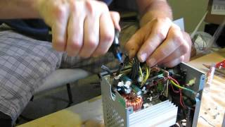 getlinkyoutube.com-DIY how to build 12 Volt Power Supply Build