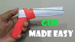 getlinkyoutube.com-How to Make a Paper gun that shoots rubber bands( With Trigger) - Easy Tutorials