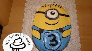getlinkyoutube.com-Despicable Me 2 Minion Cake- Di's Sweet Treats