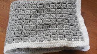 getlinkyoutube.com-babydeken haken / baby blanket crochet beginner