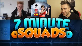 getlinkyoutube.com-FIFA 16 7 MINUTE SQUAD BUILDER vs JACK54HD W/ OP IF BELLERIN!! 92 PACE!! - DUAL SQUAD BUILDER!