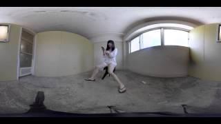 getlinkyoutube.com-怖い話をする女の子と一緒にパノラマ360度体験 VR GIRL 赤根京 Ver.2