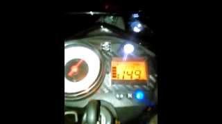 TOP SPEED SATRIA FU at Halim Jakarta ( New Bike )