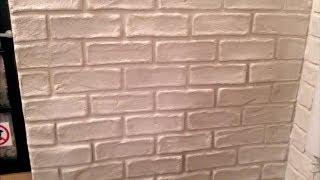 getlinkyoutube.com-jak zrobić imitację cegieł na ścianie za pomocą goldbandu DIY ( faux brick wall)