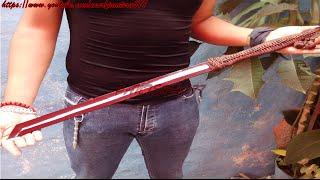 getlinkyoutube.com-¿Cómo hacer un Ninjato Táctico? (Espada casera ornamental)