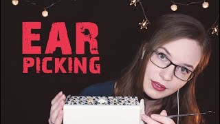 ASMR Ear Scraping w/Metal and Wood Earpick - Intense Ear Cleaning - Whisper, Soft Speaking