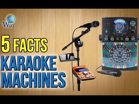Karaoke Machines: 5 Fast Facts