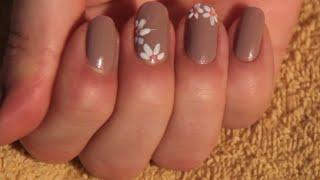 getlinkyoutube.com-Урок дизайна ногтей - как нарисовать цветочки на ногтях