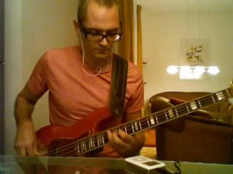 all american alien boy - Ian Hunter - Jaco Pastorius solo -  bass playalong