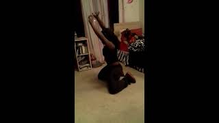 getlinkyoutube.com-Dancing to ciara (body party) kayla jones