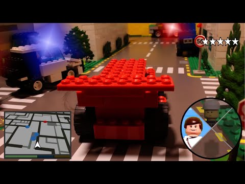 LEGO Stop Motion: Grand Theft Auto Lego City (HD 1080p)