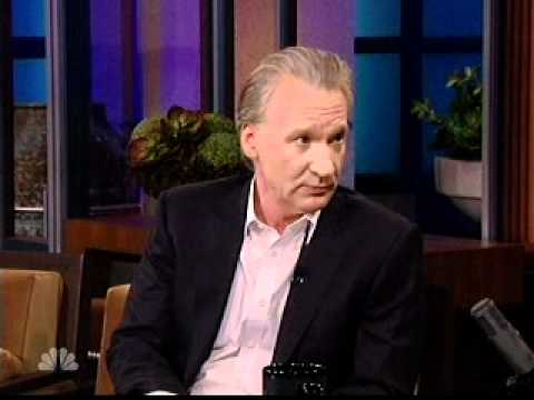 Bill Maher Right Wingers are armed &amp; dangerous - on Jay Leno Jan2011