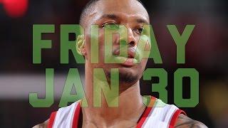 getlinkyoutube.com-NBA Daily Show: Jan. 30 – The Starters