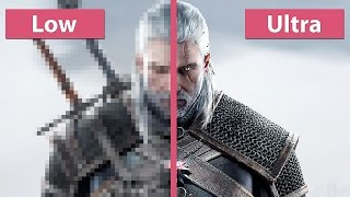 getlinkyoutube.com-The Witcher 3: Wild Hunt – PC Low vs. Ultra Graphics Comparison Pre Day-One Patch [60fps][FullHD]