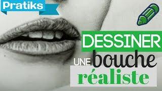getlinkyoutube.com-Comment dessiner une bouche réaliste