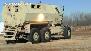 getlinkyoutube.com-Will the MRAP withstand AP ammunition?