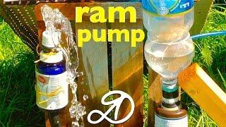 How to make the hydraulic ram. DIY hydraulic ram pump