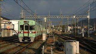 getlinkyoutube.com-平日朝の西鉄天神大牟田線・大宰府線 西鉄二日市駅
