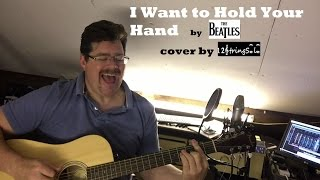 """getlinkyoutube.com-♫♪ The Beatles """"I want to hold your hand"""" acoustic cover by 12Stringsolo"""