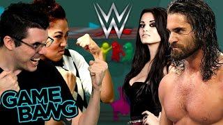 getlinkyoutube.com-WWE GANG BEAST BATTLE (Game Bang)