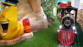 getlinkyoutube.com-라바 기차 놀이 라바 어린이 놀이터 Larva Kids Train