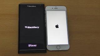 getlinkyoutube.com-Blackberry Priv vs iPhone 6S - Speed & Camera Test (4K)