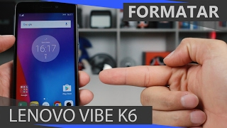 getlinkyoutube.com-Como Formatar Lenovo Vibe K6 - Desbloquear - Hard Reset