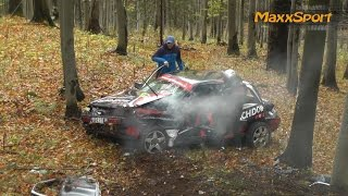 getlinkyoutube.com-Rally Crash Compilation 2015 Part 2