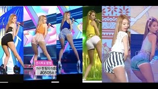 Bestie (베스티) Hot Baby Sexy Ass-Shaking Compilation
