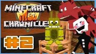 getlinkyoutube.com-Minecraft Mod Chronicles ► Minecraft Mod Roleplay ► Episode 2 - FNAF 4 CURSE!