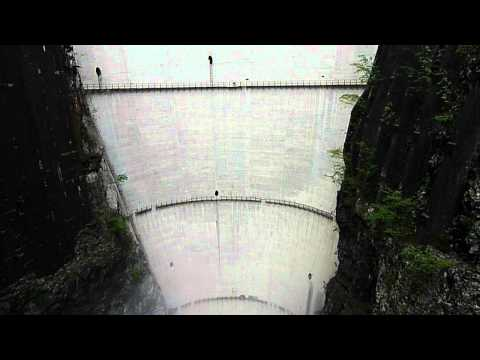 Vajont dam 2012 from bridge