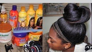 getlinkyoutube.com-My Winter Hair Regimen | Very Detailed | Products Shown