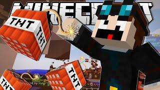 getlinkyoutube.com-Minecraft   THE INDESTRUCTIBLE MAN!!   Bomb Lobbers Minigame