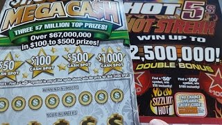getlinkyoutube.com-Indiana Lottery Scratch Offs Big Win Celebration Large Ticket Scratching Live Gambling