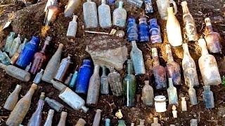 getlinkyoutube.com-1800's bottle dump found! Dig Fellas unearth treasure!