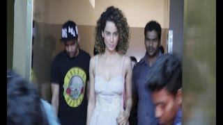 KANGNA & OTHER WATCH BAAHUBALI 2 AT PVR JUHU