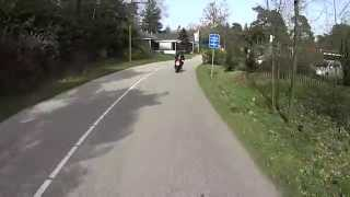 getlinkyoutube.com-Sony HDR-AS30V motorcycle riding Sallandse Heuvelrug Part 1 30-3-2014