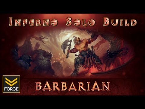 Diablo 3 - Barbarian Solo Inferno/Hell Build