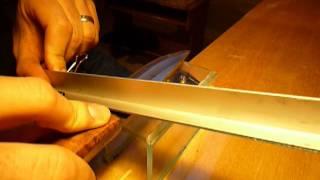 getlinkyoutube.com-Precision Knife Sharpening Setup (DIY)