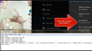 AndyRootkitz Easy Andy Root For Windows Andyroid 0.45.5.0 LATEST
