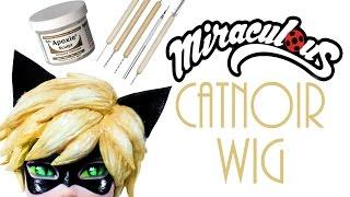 Sculpted Doll Wig [ Cat Noir ]