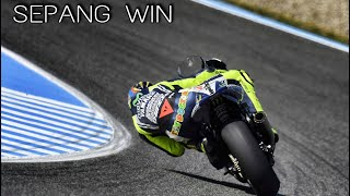 getlinkyoutube.com-Moto GP 2015 Valentino Rossi Sepang REAL Race Guido Meda